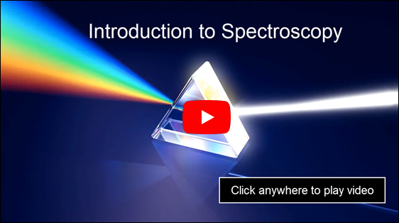 Introduction to Spectroscopy video